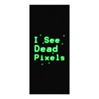 I See Dead Pixels Personalized Rack Card