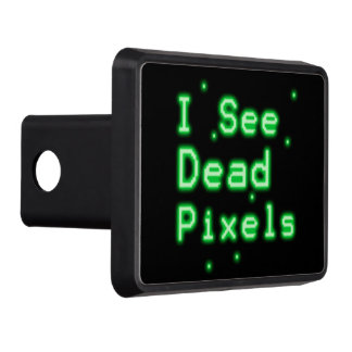 I See Dead Pixels Tow Hitch Cover