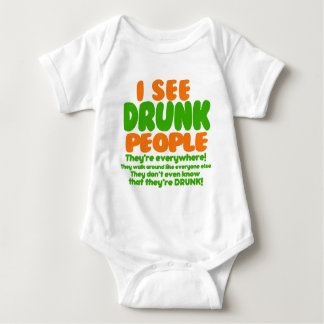 I See Drunk People Shirts