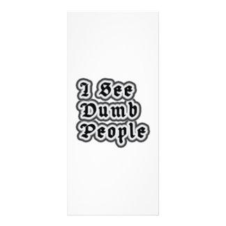 I See Dumb People Rack Cards