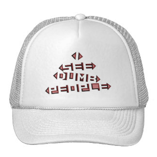 I See Dumb People Trucker Hat