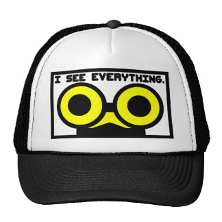 I See Everything. Critter Mesh Hats