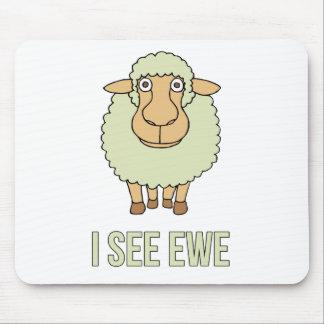I See Ewe Mousepads