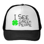 I See Green People Trucker Hat