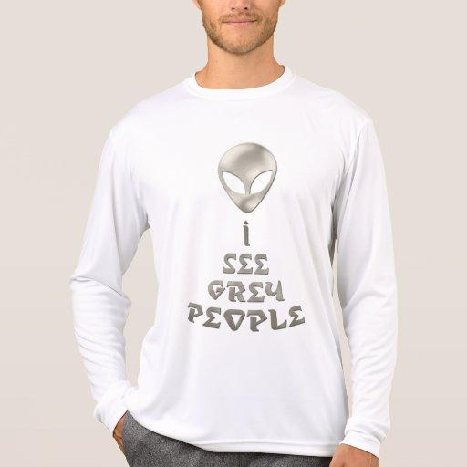 *I See Grey People* Shirt