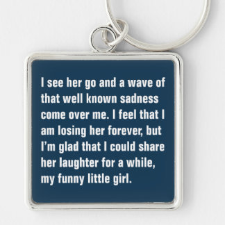 I See Her Go and A Wave of That Well Known … Keychain