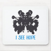 I See Hope Mousepad