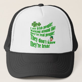 I see Irish people! Trucker Hat