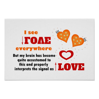 I see love everywhere poster