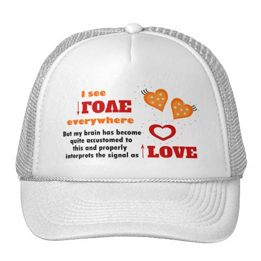 I see love everywhere trucker hats