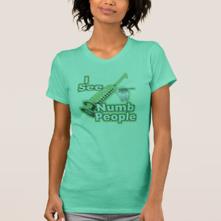 I See Numb People T-Shirt