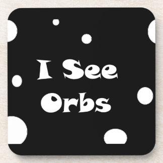 I See Orbs-cork coaster