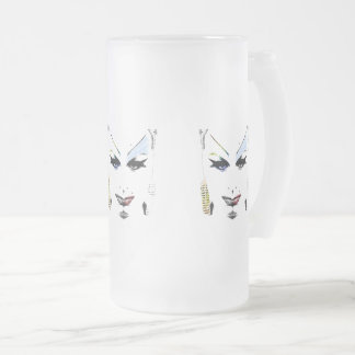 I See Queer People Frosted Glass Beer Mug