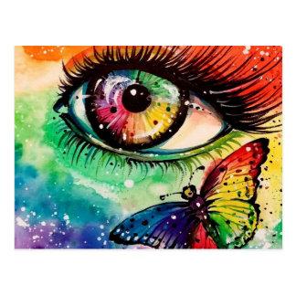 I See Rainbow Postcard