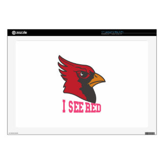 I See Red Laptop Decals
