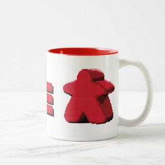 I See Red Meeple Coffee Mug
