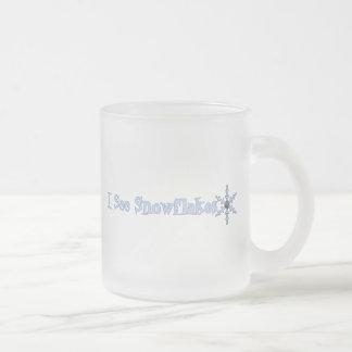 I See Snowflakes Mugs