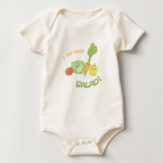 I See Some Salad! Baby Bodysuit