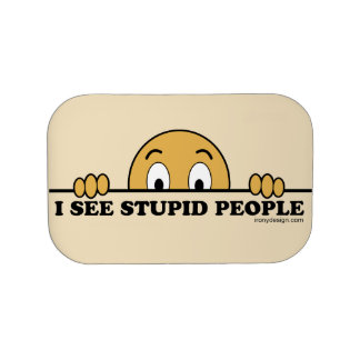 I See Stupid People Lunch Box