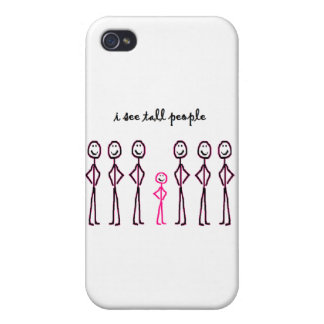 I See Tall People iPhone 4 Covers