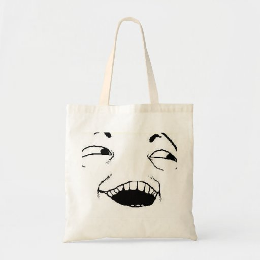 I See What You Did Comic Face Tote Bag