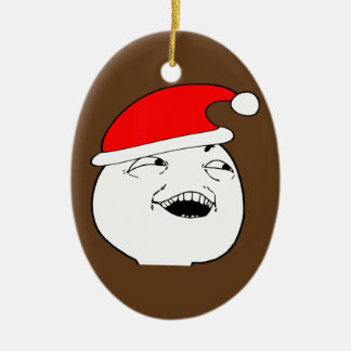 i see what you did there xmas meme ceramic ornament
