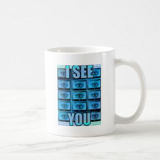 I See You Eye Ball Television Coffee Mug