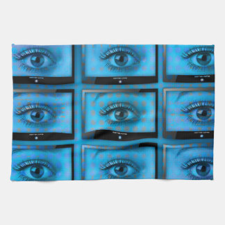 I See You Eye Ball Television Kitchen Towel