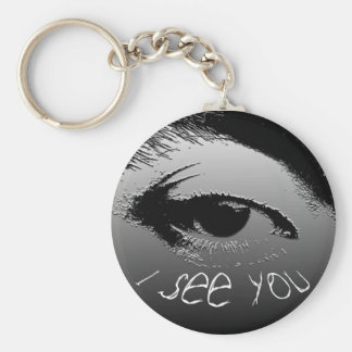 I see you. keychain