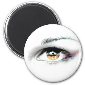 i see you... 2 inch round magnet