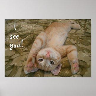 I see you! print