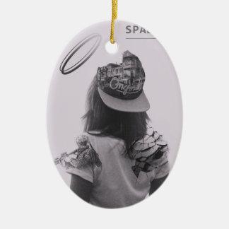 I See You Release Ceramic Ornament