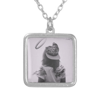 I See You Release Silver Plated Necklace