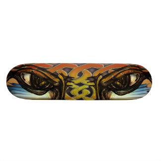 I see you-tiger eyes - skateboard