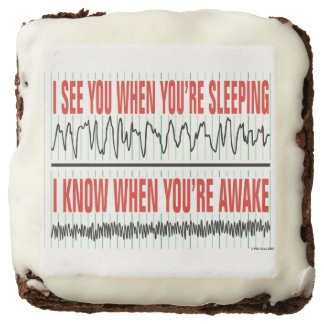 I See You When You're Sleeping Brownies