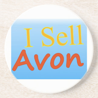 I Sell Avon Drink Coaster