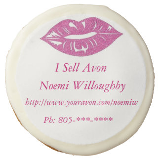I Sell Avon Pink Lips Sugar Cookie