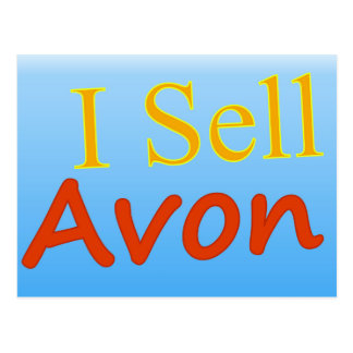 I Sell Avon Post Cards