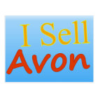 I Sell Avon Postcard