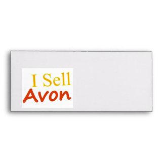 I-Sell-Avon-White Background Envelope