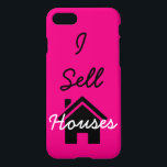 "I sell houses realtor cell phone case<br><div class=""desc"">I sell  houses cell phone case for Realtors/Real Estate agents</div>"