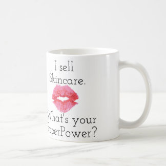 I Sell Skincare. What's Your SuperPower? Mug... Coffee Mug