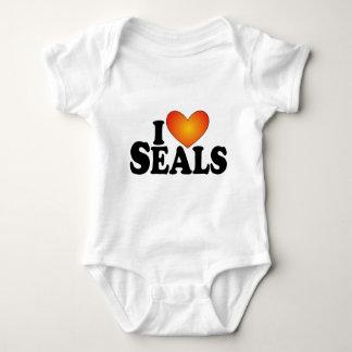 I sellos (del corazón) - productos de Lite Mameluco De Bebé