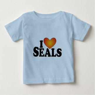 I sellos (del corazón) - productos de Lite Playera Para Bebé