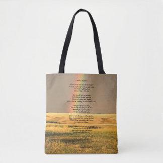 """I Send A Rainbow"" Tote Bag"