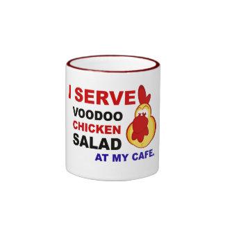 """""""I Serve Chicken Salad at My Cafe"""" Mug"""