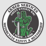 I Serve...I Ride Sticker