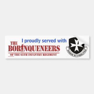 I served - Bumper Sticker Car Bumper Sticker