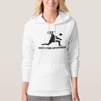 I Set What's Your Superpower? Hoody