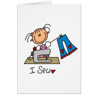 I Sew Stationery Note Card